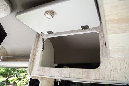 エブリィの内装・装備「収納スペース|上部」