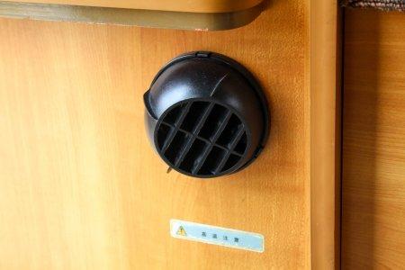 内装・装備:FFヒーター
