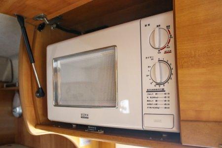 内装・装備:電子レンジ